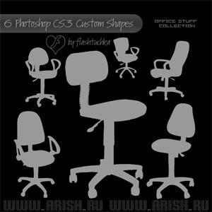 شیپ انواع صندلی